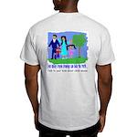 Abuse Awareness Ash Grey T-Shirt