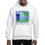 Abuse Awareness Hooded Sweatshirt