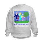 Abuse Awareness Kids Sweatshirt