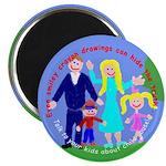 "Abuse Awareness 2.25"" Magnet (100 pack)"