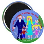 "Abuse Awareness 2.25"" Magnet (10 pack)"