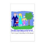 Abuse Awareness Mini Poster Print