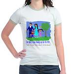 Abuse Awareness Jr. Ringer T-Shirt