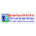 Abuse Awareness Bumper Sticker