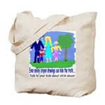 Abuse Awareness Tote Bag