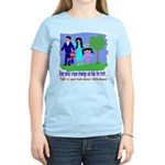 Abuse Awareness Women's Pink T-Shirt