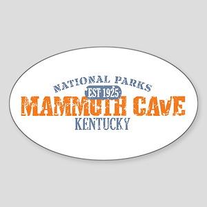 Mammoth Cave National Park KY Sticker (Oval)
