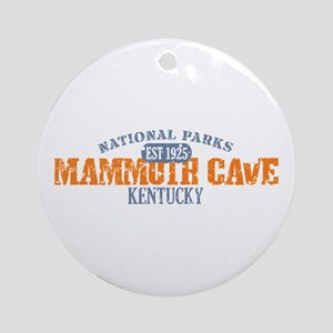 Mammoth Cave National Park KY Ornament (Round)