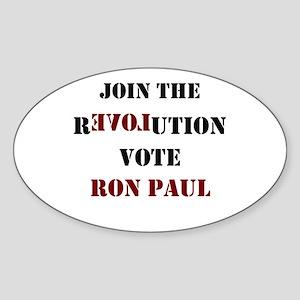 R3VOLUTION Sticker (Oval)