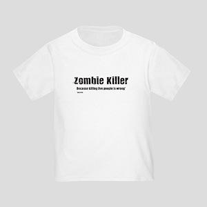 Zombie Killer Toddler T-Shirt