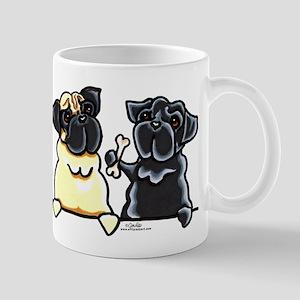 Bone to Pug Mug