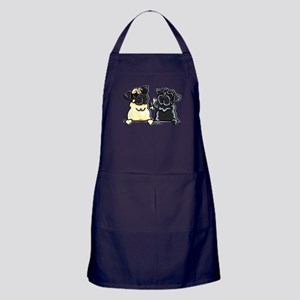 Bone to Pug Apron (dark)