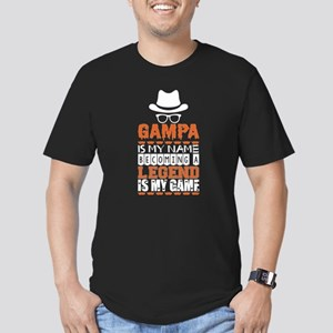Gampa Is My Name Becoming A Legend Is My G T-Shirt