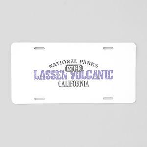 Lassen Volcanic National Park Aluminum License Pla