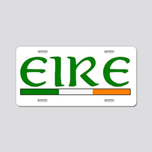 EIRE Aluminum License Plate