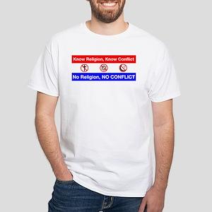 No Religion, No Conflic T-Shirt