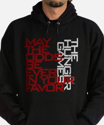 Hunger Games words Hoodie (dark)