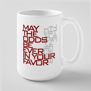 Hunger Games words Large Mug