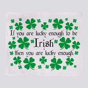 Luck of the Irish Throw Blanket