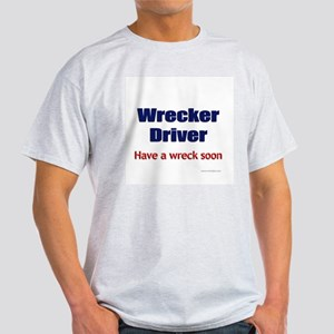 Wrecker Driver Ash Grey T-Shirt