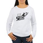 Get Off The Rock Women's Long Sleeve T-Shirt