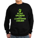 IRISH KEEP CALM Sweatshirt (dark)