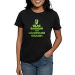 IRISH KEEP CALM Women's Dark T-Shirt