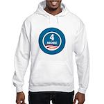 4 More Obama Hooded Sweatshirt