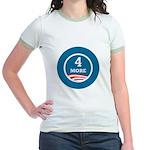 4 More Obama Jr. Ringer T-Shirt