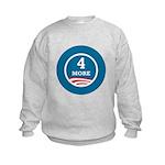 4 More Obama Kids Sweatshirt