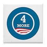 4 More Obama Tile Coaster