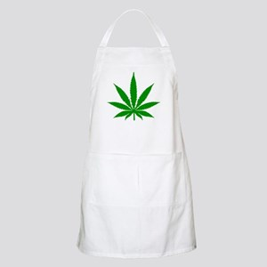 Marijuana Leaf Apron
