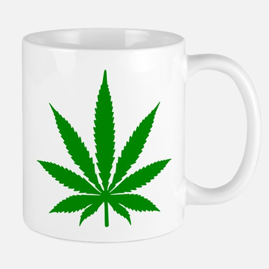 Marijuana Leaf Mug