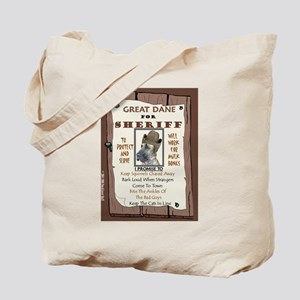 Great Dane (Brindle) Tote Bag
