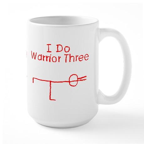 Red Warrior Three Large Mug
