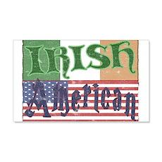 Irish American 22x14 Wall Peel