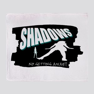 shadows Throw Blanket