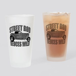 Deuces Wild 1932 Ford Roadste Drinking Glass