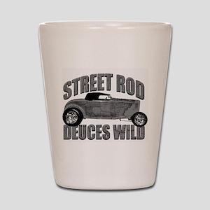 Deuces Wild 1932 Ford Roadste Shot Glass