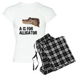 A Is For Alligator Women's Light Pajamas