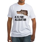 A Is For Alligator Fitted T-Shirt