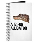 A Is For Alligator Journal