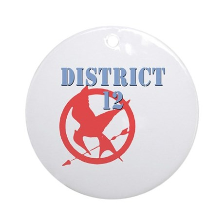 District 12 Hunger Games Ornament (Round)