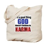 God Karma Tote Bag
