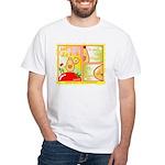 Mayo Comic White T-Shirt
