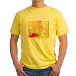 Mayo Comic Yellow T-Shirt