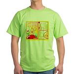 Mayo Comic Green T-Shirt
