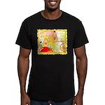 Mayo Comic Men's Fitted T-Shirt (dark)