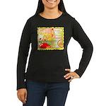 Mayo Comic Women's Long Sleeve Dark T-Shirt