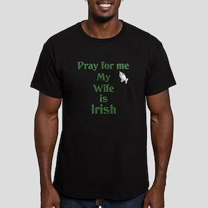 Pray for me Wife Is Irish T-Shirt